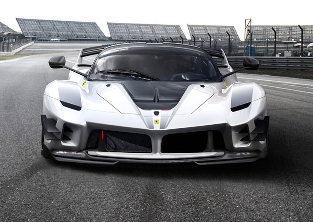 Ferrari FXX-K Evo využívá nejnovější poznatky z aerodynamiky