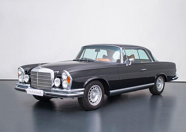 Mercedes-Benz W111 M-Coupé: Kupé z roku 1970 dostalo moderní techniku od AMG