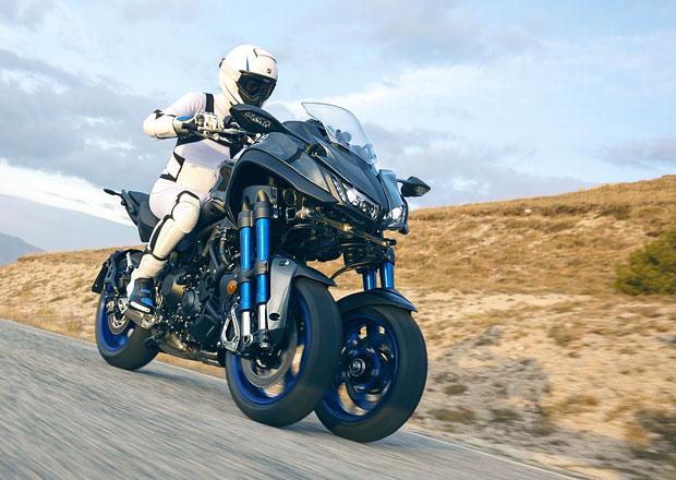 Yamaha Niken: Nezvyklý motocykl s dvěma předními koly