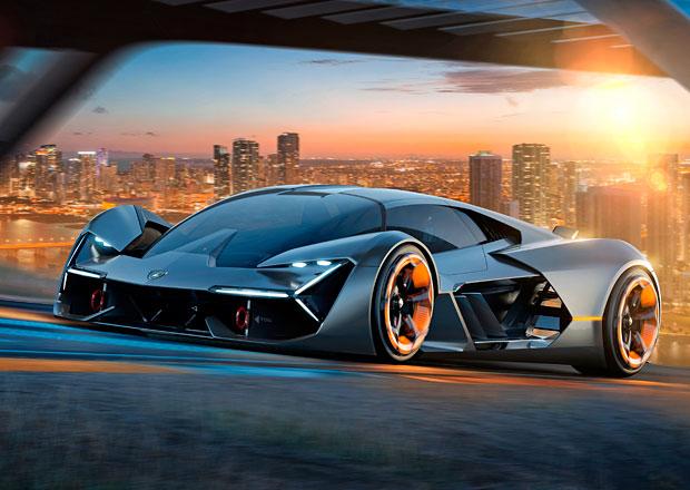Lamborghini Terzo Millennio je supersportem budoucnosti. Má baterie v karoserii, která se sama opraví!