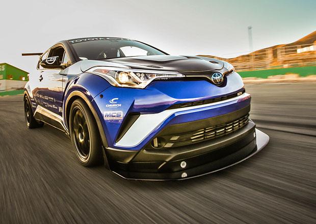 Toyota chce mít nejrychlejší předokolku na Nürburgringu. Vyšle šestsetkoňové C-HR!