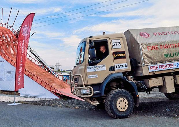 Tatra se zapojila do programů výcviku i vzdělávání řidičů