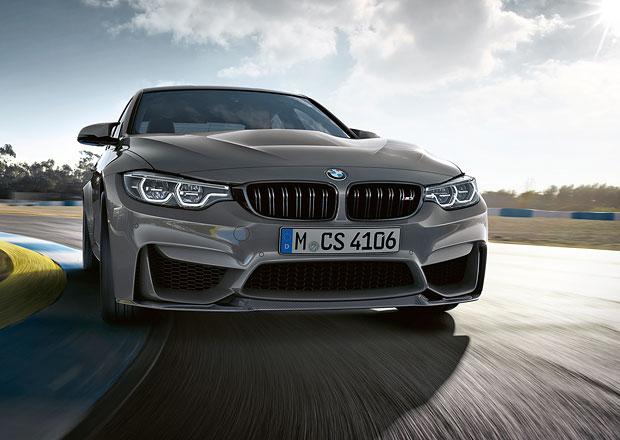 BMW M3 CS: Přivítejte nejostřejší řadu 3! Má více koní a zhubla
