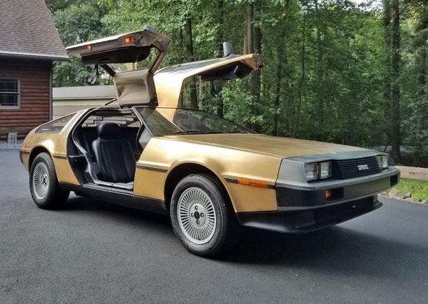 Legendární DeLorean DMC-12 za 3,3 milionu korun? Ano, těchto totiž existuje jen pět