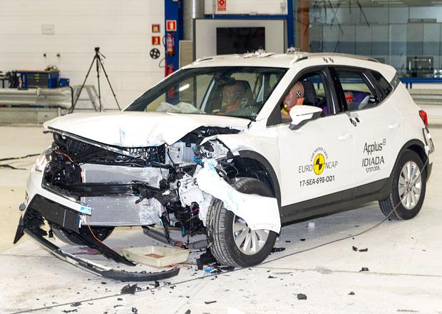 Euro NCAP 2017: Seat Arona – Malý crossover kopíruje výsledky modelu Ibiza