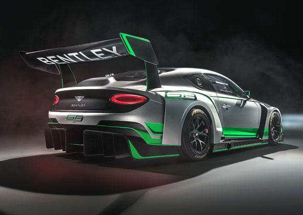 Bentley odhaluje nový Continental GT3 pro závodní okruhy