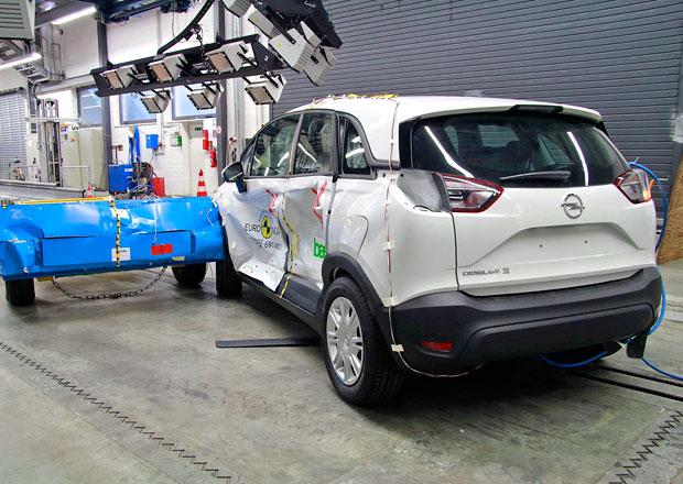 Euro NCAP 2017: Opel Crossland X – Pět hvězd pro německý crossover s technikou z Francie
