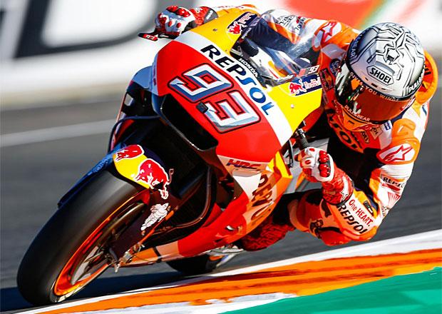Motocyklová VC Valencie 2017: Márquez pošesté mistrem světa, Dovizioso skončil v kačírku