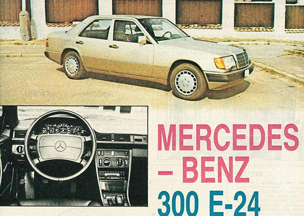 Retro test Mercedes-Benz 300 E-24: Sen dobových československých novinářů