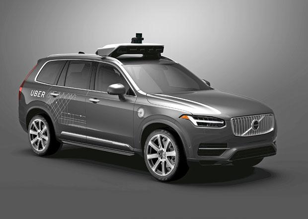 Uber koupí 24.000 samořízených aut od švédské společnosti Volvo