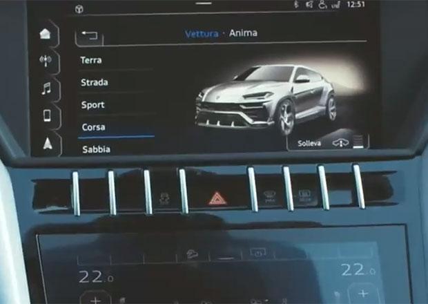 Nové SUV Lamborghini Urus odhaleno! Díky multimediálnímu systému...