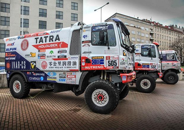 Tatra Phoenix míří s velkými ambicemi na Dakar 2018