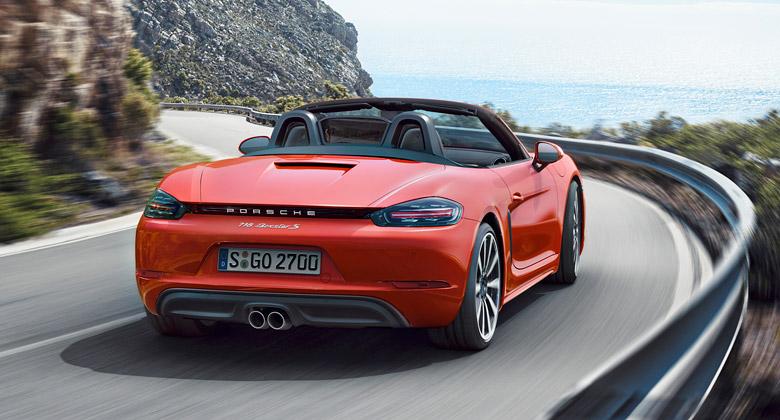 Porsche pořád myslí na petrolheady. Boxster se vrátí k šestiválci!