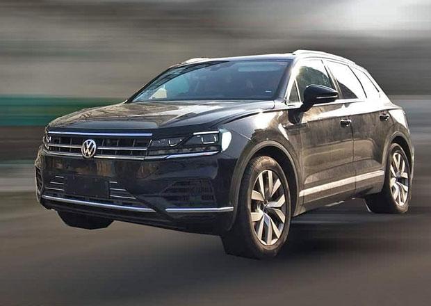 Nový Volkswagen Touareg zachycen v Číně. Takřka bez maskování!