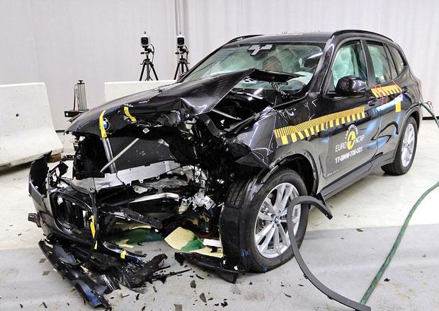 Euro NCAP 2017: BMW X3 – Pět hvězd s prostorem pro zlepšení