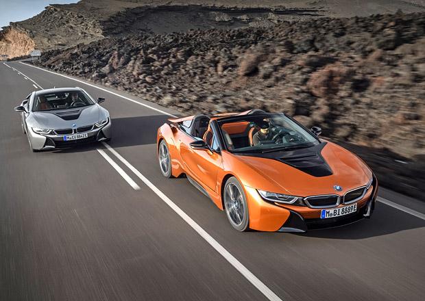 Nové BMW i8 Roadster oficiálně. Více síly díky lepšímu elektromotoru