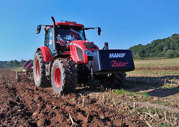 Zetor a úspěšný podzim ve Francii