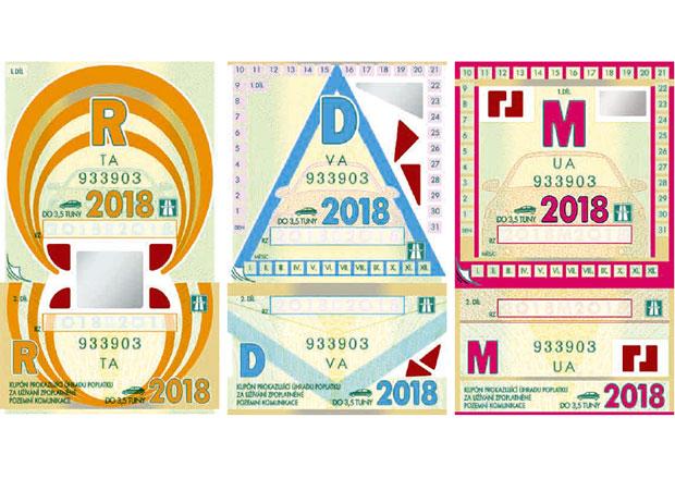 Dálniční známky 2018 vstupují v platnost. Co se změnilo?