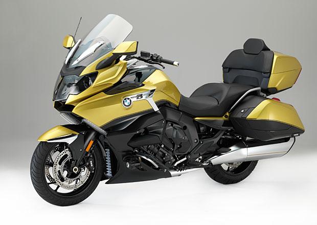 BMW K 1600 Grand America: Šest válců na dvou kolech pro luxusní cestování