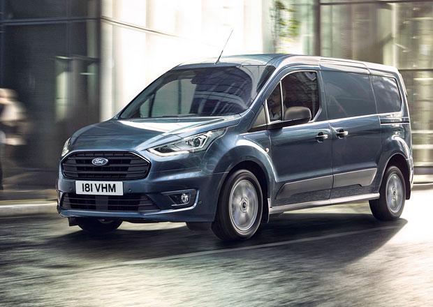 Ford omladil lehké užitkové modely Transit Connect a Transit Courier
