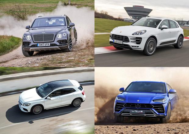 10 nejrychlejších SUV na českém trhu. Všechny jedou alespoň 250 km/h!