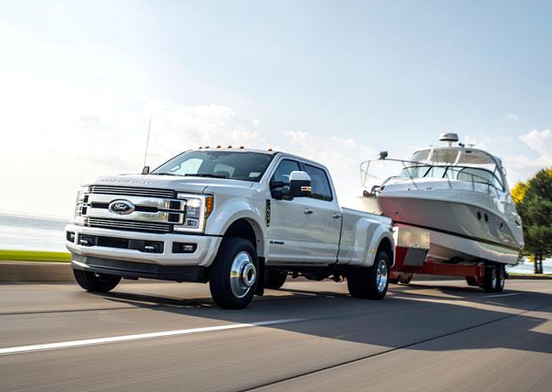 Ford F-Series Super Duty s 6,7litrovým dieselem ohromuje svými výkony