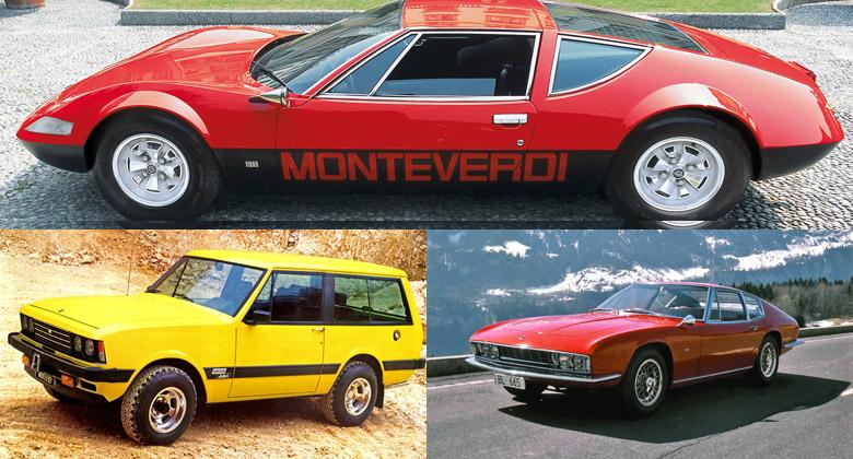 To nejlepší od mrtvých značek: Monteverdi – Automobilka, která zastínila Ferrari i Rolls-Royce