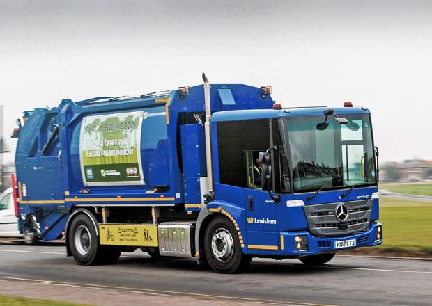 Mercedes-Benz Econic jako specialista na svoz komunálního odpadu