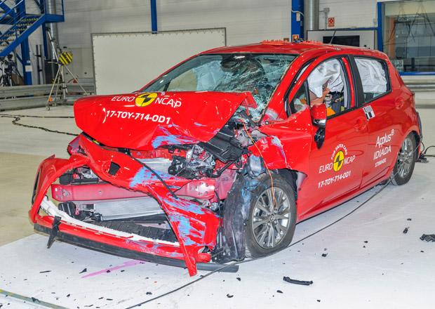 Euro NCAP 2017: Toyota Yaris – Pět hvězd i s několika nedostatky