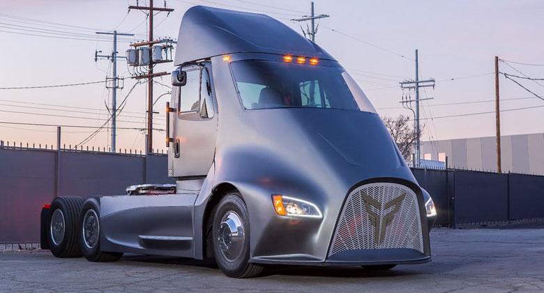 Thor Trucks ET-One: Elektrická novinka je vyzyvatelem tahače Tesly