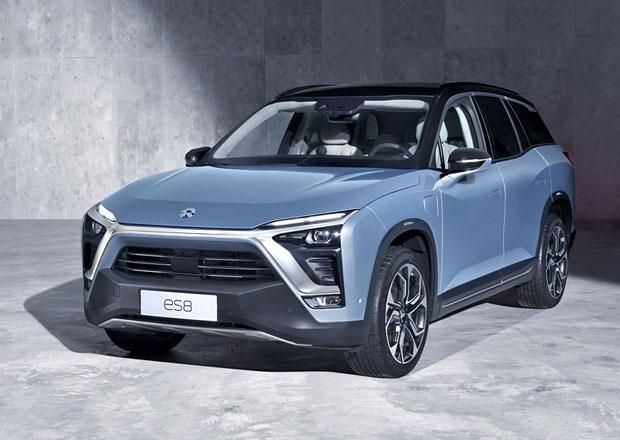 Nio ES8: Konkurence pro Teslu? Čínské elektrické SUV má přes 650 koní