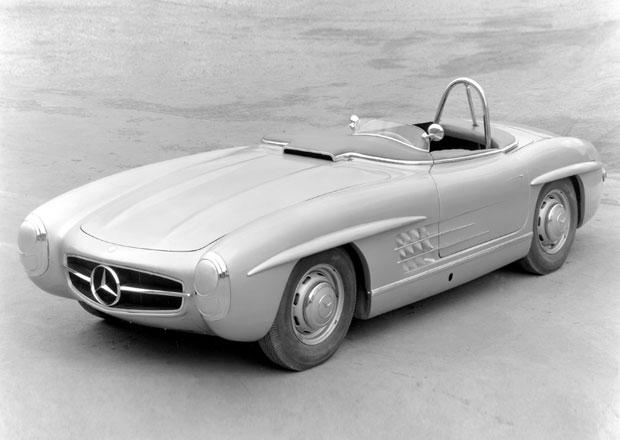 Mercedes si vzpomněl na skoro zapomenutý roadster 300 SLS. A připravil dokonalou repliku