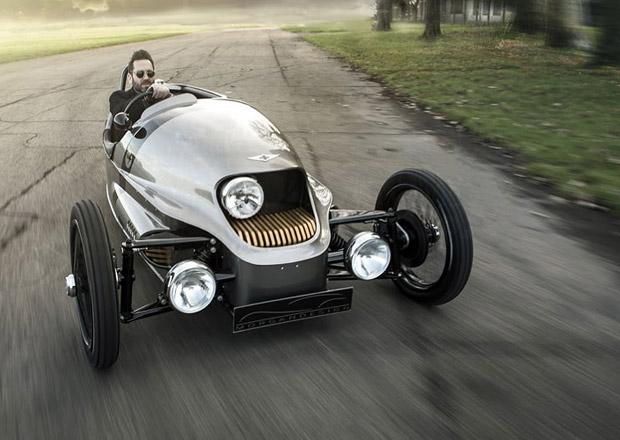 Morgan EV3 opravdu vznikne. Elektrická tříkolka je prostě krásná!