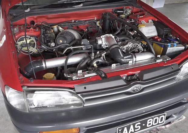 Nejšílenější Subaru na světě? Má speciální motor dosahující 12.000 otáček, na trojku jede 225 km/h
