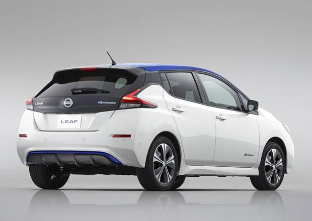 Nový Nissan Leaf odhaluje české ceny. Je levnější než konkurence