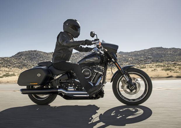 Harley-Davidson Sport Glide zvládne krátké vyjížďky i cesty napříč kontinenty