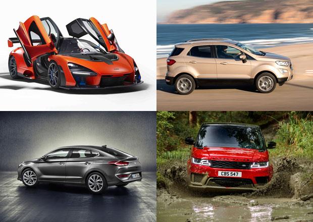 Velký přehled nových aut pro rok 2018. Na co se můžete těšit?