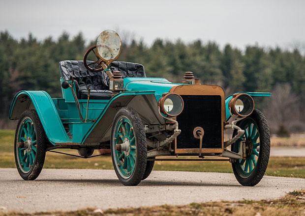 Ford Model K (1905-1908): Velký šestiválcový předchůdce Plechové Lízy