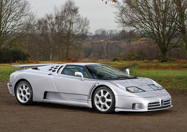 Bugatti EB110 SS: Draží se vzácný vývojový prototyp, stojí přes 20 milionů