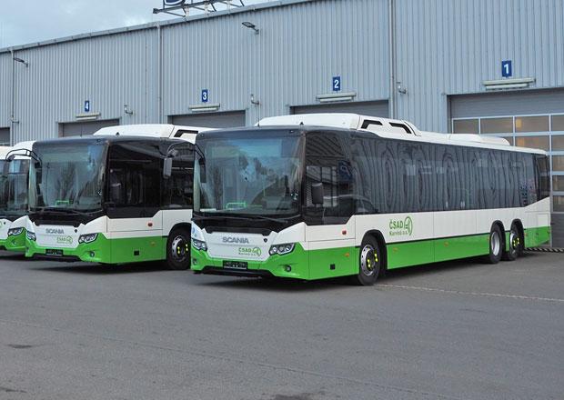Autobusy Scania Citywide pro dopravní skupinu 3CSAD