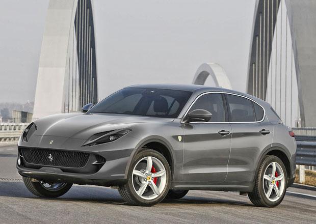 Ferrari pracuje na SUV. Bude vypadat jako některá z těchto vizí?