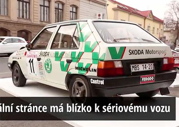 Škoda Favorit 136 L/A sbíral závodní úspěchy i v Monte Carlu