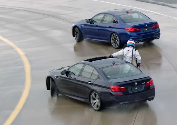 BMW má světový rekord. Podívejte se na nejdelší drift i tankování během něj