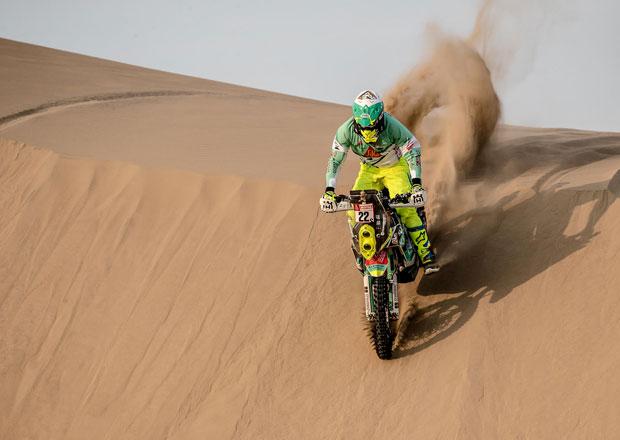 Dakar 2018: Jak po havárii dopadl Ondřej Klymčiw?