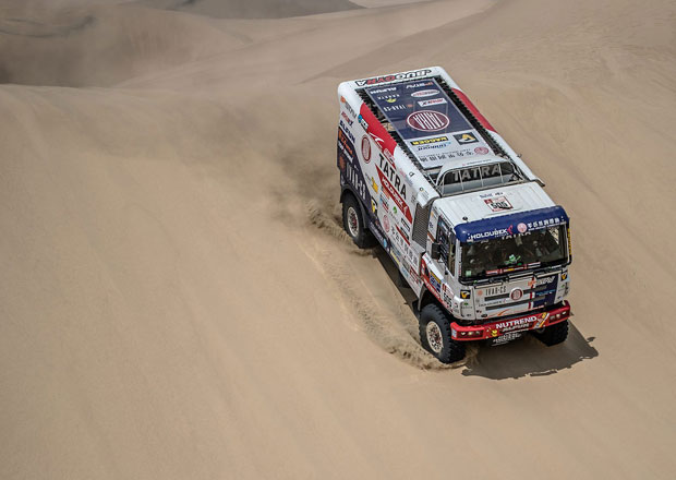 Dakar 2018 – 4. etapa: Kolomý válel