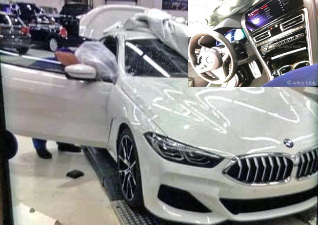 BMW 8 odhaleno na prvních fotografiích. Máme i fotky interiéru!