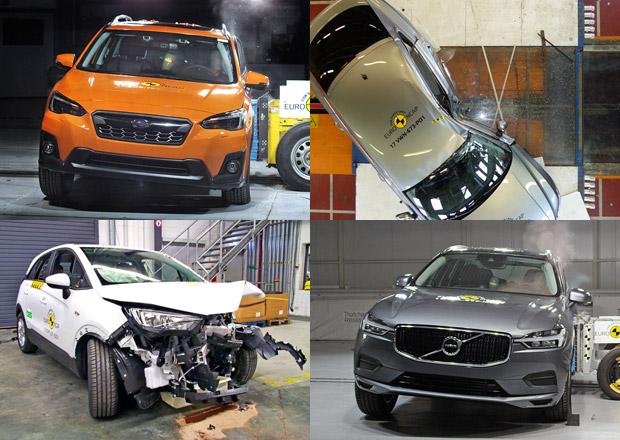 Tohle jsou nejbezpečnější auta roku 2017: Arteon, Impreza a další