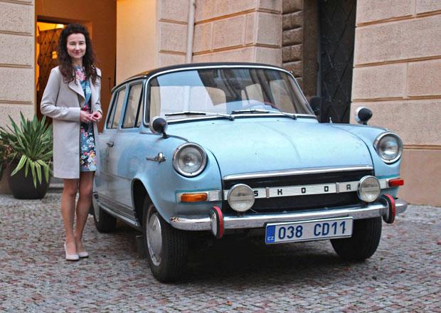 Krásná Škoda 1000 MB po britské velvyslankyni vydražena. Za kolik se nakonec prodala?