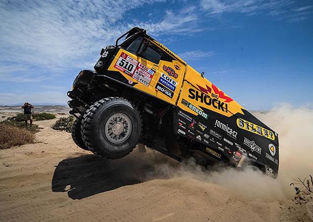Dakar 2018 – 8. etapa: Macík je na bedně