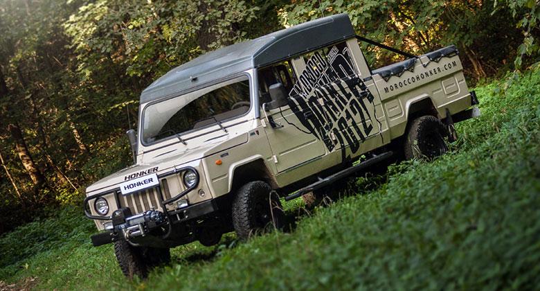 Honker: Znáte polský Land Rover? Jako nástupce UAZu 469 slouží dodnes